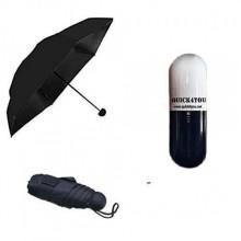 Мини-зонт в капсуле Capsule Umbrella mini Черный