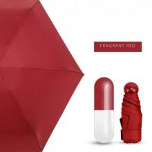 Мини-зонт в капсуле Capsule Umbrella mini Красный