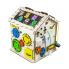 Бизиборд ID&ND домик развивающий с подсветкой 30х30х40