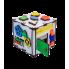 Бизиборд ID&ND кубик развивающий с подсветкой 22х22х23