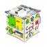 Бизиборд ID&ND кубик развивающий с подсветкой 25х25х25