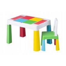 Детский столик Tega Baby для творчества и 1 креслице Multi-colored (MF001134)