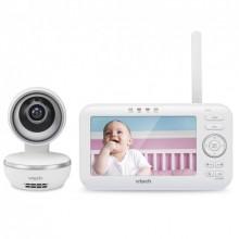Цифровая видеоняня VTech с Дистанционным поворотом камеры Колыбельными и Цветным экраном диагональю 5 (VM5261)